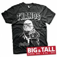 The Avengers - Thanos Infinity Gauntlet Big & Tall T-Shirt, Big & Tall T-Shirt