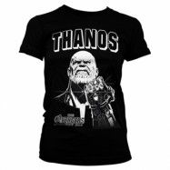 The Avengers - Thanos Infinity Gauntlet Girly Tee, Girly Tee