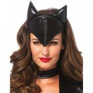 Cat Mask - Huvudplagg/Mask med Öron
