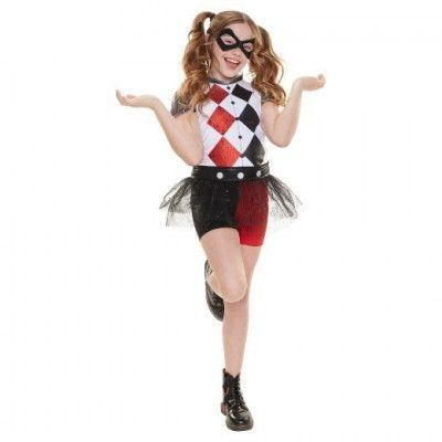 Harley Quinn Maskeraddräkt Barn