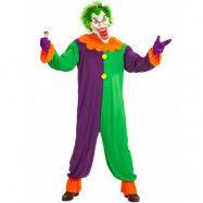 Evil Joker Dräkt med Mask