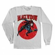 Marvels Black Widow Long Sleeve Tee, Long Sleeve T-Shirt