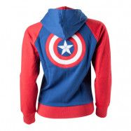 Captain America Dam Hoodie - Medium