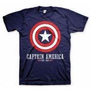 Captain America Logo T-Shirt, Basic Tee