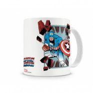 Marvel - Captain America Comic Strip Coffee Mug, Coffee Mug