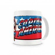 Marvel Captain America Flag Coffee Mug, Coffee Mug