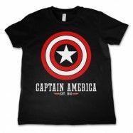 Marvel Comics - Captain America Logo Kids T-Shirt, Kids T-Shirt