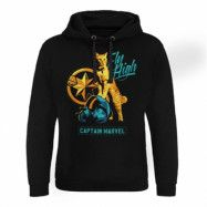 Captain Marvel - Fly High Epic Hoodie, Epic Hooded Pullover