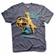 Captain Marvel - Fly High T-Shirt, Basic Tee