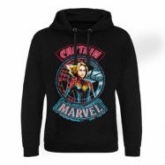 Captain Marvel Patch Epic Hoodie, Epic Hooded Pullover