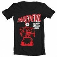 Daredevil Wide Neck Tee, Wide Neck T-Shirt