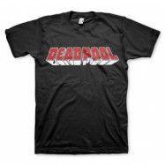 Deadpool Distressed Logo T-Shirt, Basic Tee
