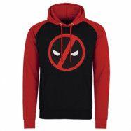 Deadpool Icon Baseball Hoodie, Baseball Hooded Pullover