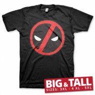 Deadpool Icon Big & Tall T-Shirt, Big & Tall T-Shirt