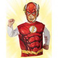 Licensierad DC Comics The Flash Dräkt till Barn - Strl 3-6 ÅR