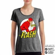 The Flash - Fastest Man Alive Performance Girly Tee, CORE PERFORMANCE GIRLY TEE