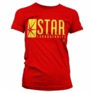 The Flash - Star Laboratories Girly T-Shirt, Girly T-Shirt