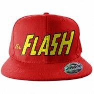 The Flash Text Logo Snapback Cap, Adjustable Snapback Cap