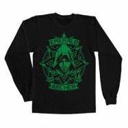 Arrow - Emerald Archer Long Sleeve Tee , Long Sleeve T-Shirt