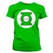 Green Lantern Logo Girly T-Shirt, Girly T-Shirt
