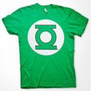 Green Lantern Logo T-Shirt Grön, SMALL