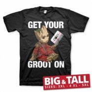 Get Your Groot On Big & Tall Tee, Big & Tall T-Shirt