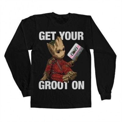 Get Your Groot On Long Sleeve Tee, Long Sleeve Tee