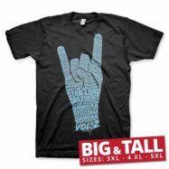 Guardians Of The Galaxy 2 Wording Big & Tall Tee, Big & Tall T-Shirt