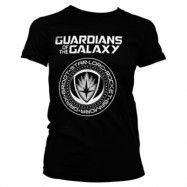 Guardians Of The Galaxy Shield Girly Tee, Girly Tee