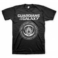 Guardians Of The Galaxy Shield T-Shirt, Basic Tee