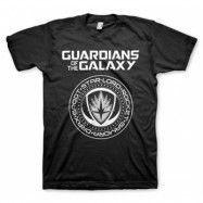 Guardians Of The Galaxy Shield T-Shirt, Basic Tee