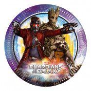 Papperstallrikar Guardians of the Galaxy - 8-pack