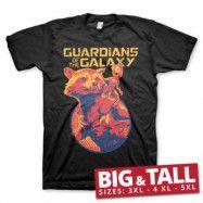Rocket & Groot Big & Tall T-Shirt, Big & Tall T-Shirt