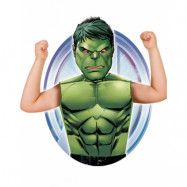Licensierad Marvel Hulken Dräkt till Barn - Strl 3-6 ÅR