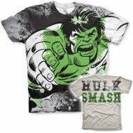 The Hulk Allover T-Shirt, Modern Fit Polyester Tee