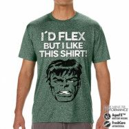 The Hulk - I´d Flex But I Like This Shirt Performance Mens Tee, CORE PERFORMANCE MENS TEE