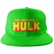 The Hulk Snapback Cap, Adjustable Snapback Cap