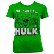 The Incredible Hulk Girly T-Shirt Grön