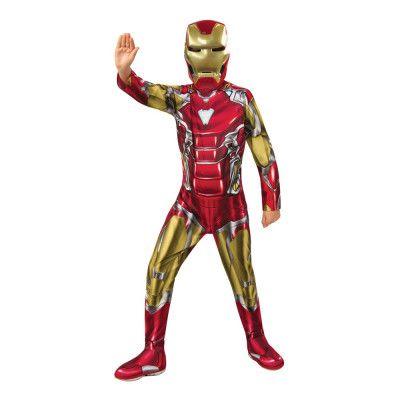 Avengers 4 Iron Man Barn Maskeraddräkt - Small