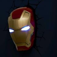 Iron Man 3 3D Vägglampa