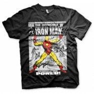 Iron Man Cover T-Shirt, Basic Tee