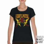 Iron Man Likes Heavy Metal Performance Girly Tee, CORE PERFORMANCE GIRLY TEE