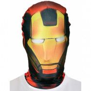 Licensierad Iron Man Morphsuit Mask