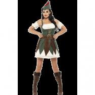 Sexig Robin Hood Maskeraddräkt Dam