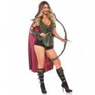 Robin Hood-inspirerad Maskeraddräkt (Dam)