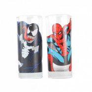 Marvel Glas 2-pack Spiderman & Venom