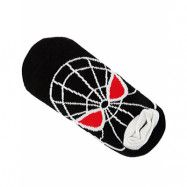 Svarta Spiderman Ankelstrumpor