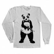 Suicide Squad Panda Long Sleeve T-Shirt , Long Sleeve T-Shirt