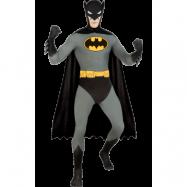 Batman Second Skin Maskeraddräkt