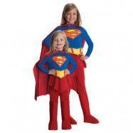 DC Comics Supergirl Maskeraddräkt Barn, MEDIUM